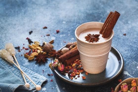 Chá Chai Masala Jardim América - Chai Masala para Auxílio na Digestão